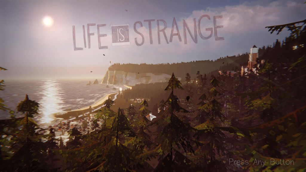 Life is Strange~title screen